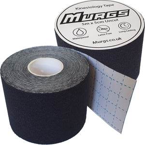 Murgs Black Hand Tape/ Kinesiology tape 5m roll