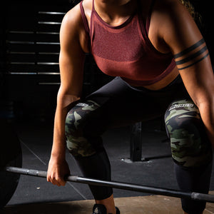 Camo knee sleeves lift