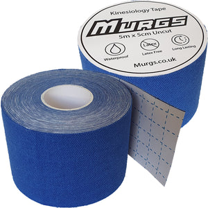 Murgs Hand Tape Kinesiology Tape 5m Roll Dark Blue