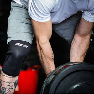 V2 7mm Knee Sleeves - Black (Pair)