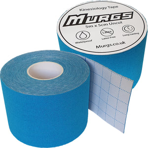 Murgs Hand Tape Kinesiology Tape 5m Roll Light Blue