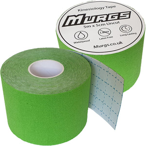 Murgs Hand Tape Kinesiology Tape 5m Roll Light Green