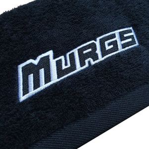 Murgs Black Cotton Gym Towel 40x80cm