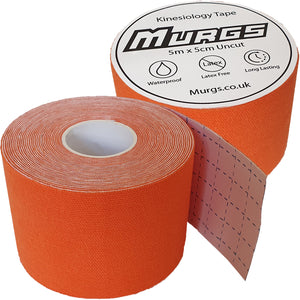 Murgs Hand Tape Kinesiology Tape 5m Roll Orange