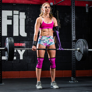 Deadlift with Pink 7mm Murgs sleeves
