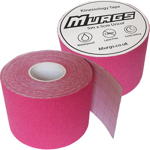Murgs Pink Hand Tape/ Kinesiology tape 5m roll