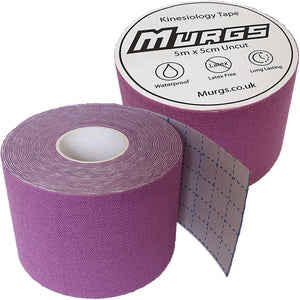Murgs Hand Tape Kinesiology Tape 5m Roll Purple