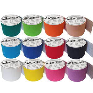Murgs Hand Tape Kinesiology Tape 5m Roll Random Colours Multi Pack