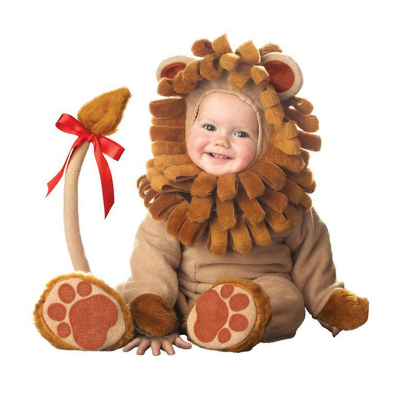 lovely animal halloween outfit for baby grow