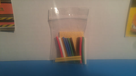 Heat Shrink Tubbing 40mm x 12 & Tip Cleaner
