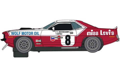 Chrysler Hemicude 1973 Spa Miss Levis Livery C4247