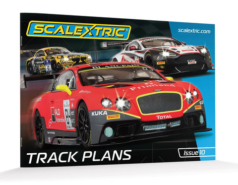 Scalextric Track Plans Book (10th Edition)  C8334