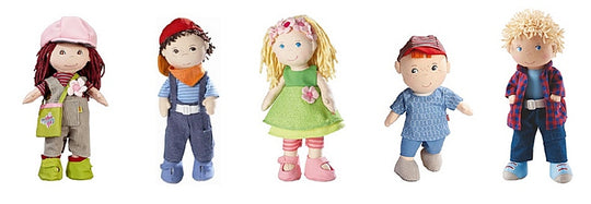 HABA Dolls - Boy's & Girl's Cloth Dolls with a European Flair