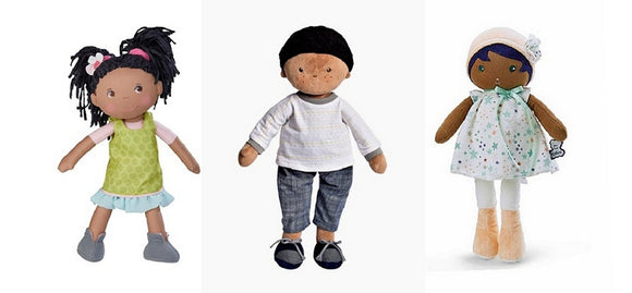 4 Dolls From Best Dolls for Kids Black Rag Dolls Collection