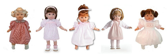 Toddler Dolls: Dress Up Dolls with Hair to Brush and Style