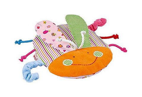 Ladybug Cherry Stone Crib-Safe Lovey and Heating Pad for Babies