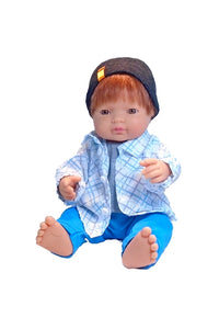 Miniland Educational 15 inch redhead boy doll