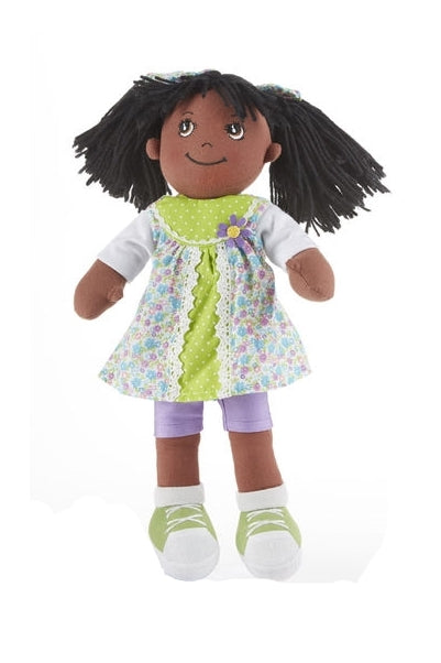 Classic 'Americana' Black Rag doll for girls, an Apple Dumpling doll