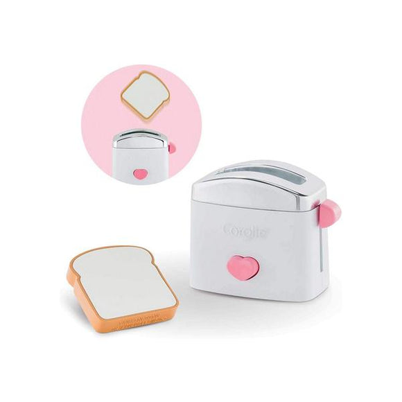 corolle's doll play accessory pop-up toaster