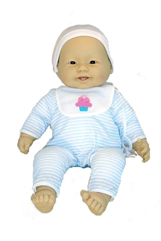 A life sized Asian baby doll, great companion and cuddle doll