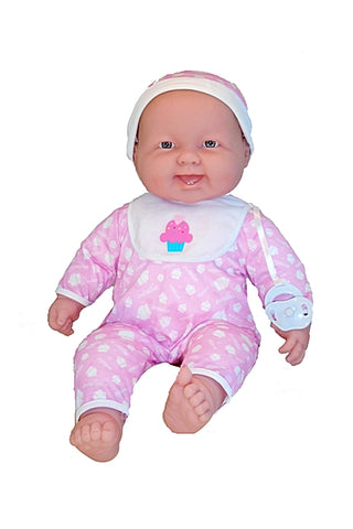 Lots to cuddle life-sized baby doll can be dressed in real baby clothes