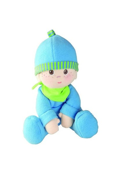 Cutie Louie A Newborn Baby Boy's First Cloth Doll and Lovey by HABA