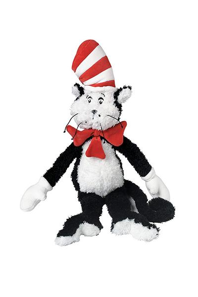 Dr Seuss Cat in the Hat Plush Character Doll