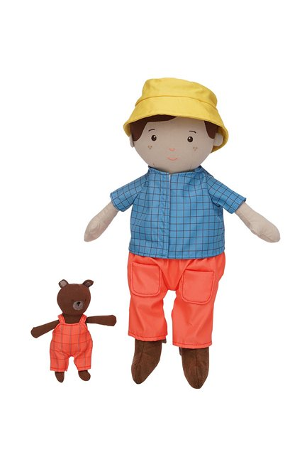 Soft Cloth Boy's Rag doll for Hispanic Multicultural or Biracial boys