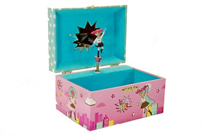 Girls Rule! A Multicultural Musical Jewelry Box for Girls