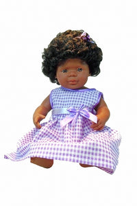 beautiful Black children's doll wit 'natural' hair