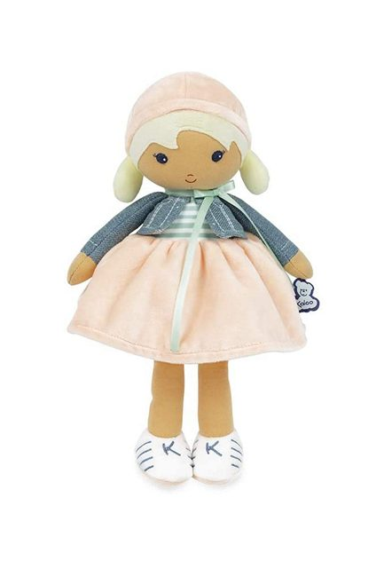 Kaloo Chloe ethnic ragdoll a soft first doll for biracial ethnic and multicultural children