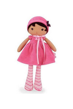 Emma a soft plush ethnic or biracial first doll for children by kaloo of france