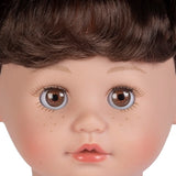 a close up portrait of the new interactive girls doll Kitty Kisses by Adora