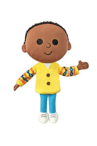 CJ the Black Boy's Character Doll from the Last Stop on Market Street