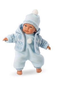 A Baby Boy Doll that cries and says mama, a Lorens Cry Baby Doll