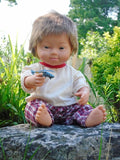 Here's eddie, our new down syndrome boy doll
