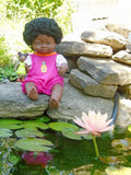 Beautiful Black Girl Doll with Down Syndrome for Kids
