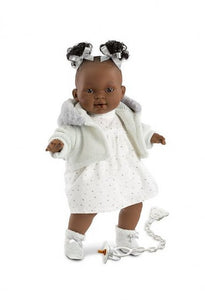 Black baby Doll that cries and says Mama
