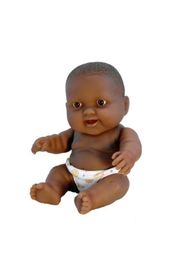 'Lots to Love' Black Baby Doll for children. All Plastic Bathtub toy doll as well