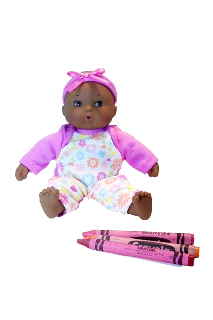 pocket sized Black baby doll from Madame Alexander