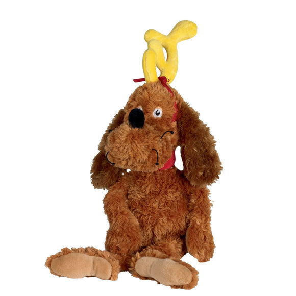 soft Plush Max the Dog doll from Dr Seuss How the Grinch Stole Christmas