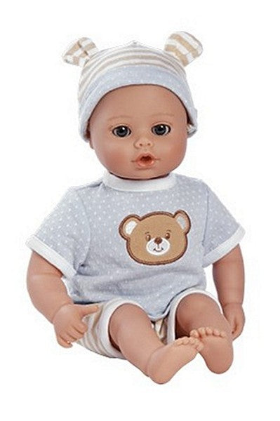 PlayTime™ Prince Baby Boy Doll with Blue Open and Close Eyes