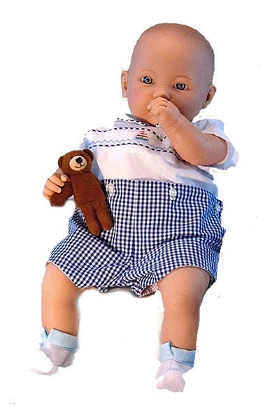 Life sized baby boy doll for children