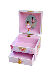 Dancing Black Ballerina musical jewelry box for little girls