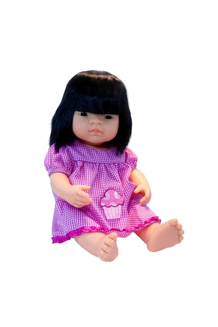 Jennifer, The Beautiful and Realistic Asian Baby Doll for Toddlers