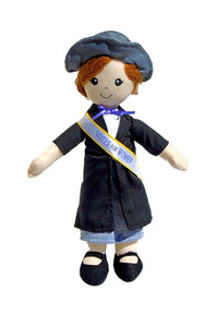 Suffragette Doll 19th Amendment 100th Anniversary