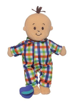 Wee Baby Fella! A Soft and Cuddly Boy Doll with magnetic Pacifier