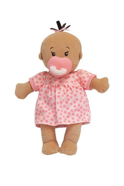 the beige version of the wee baby stella dolls for biracial or hispanic children