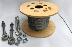 Steel Rope Wire Cable and Fittings