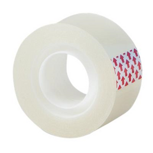 Clear Self Adhesive Easy tear Tape - 25mm Similar To Sellotape
